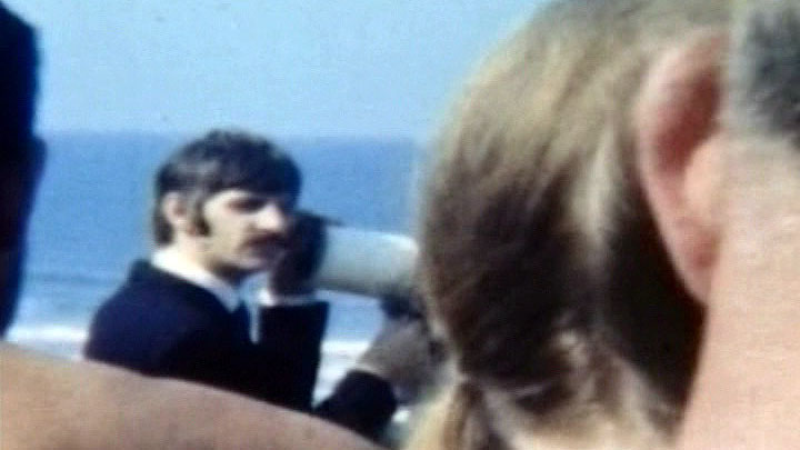 Ringo Starr at Watergate Bay Newquay 1967