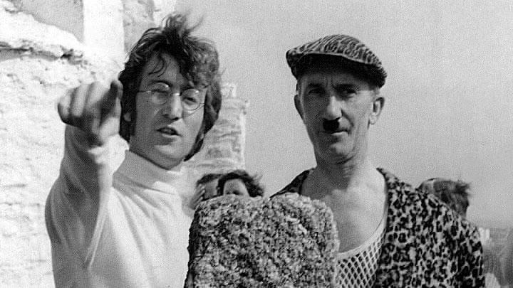 John Lennon at the Huer's Hut Newuqay 1967