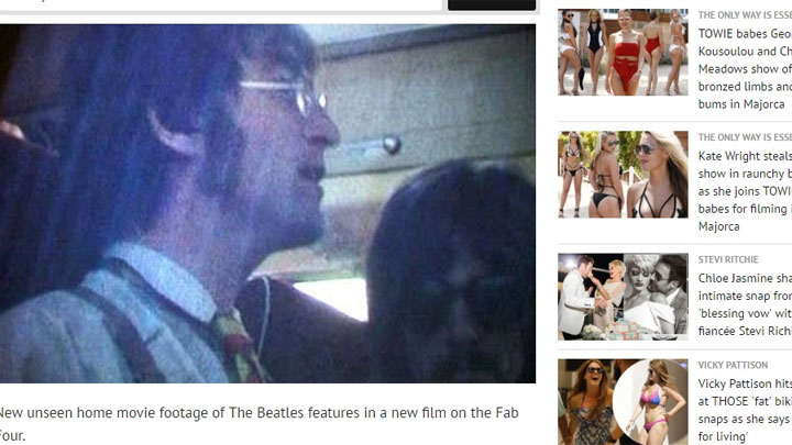 beatles newquay mirror news